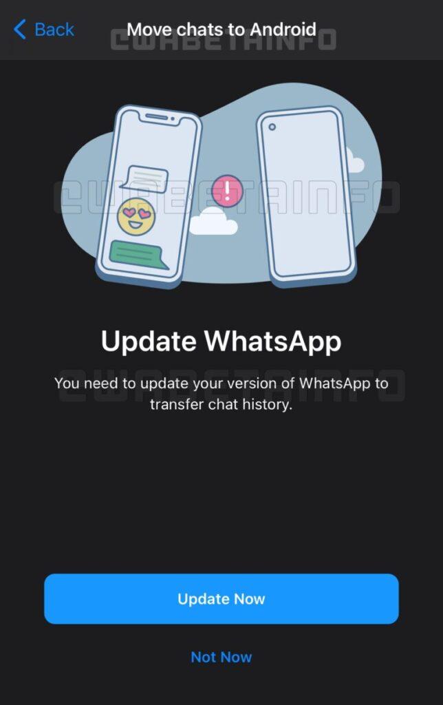 whatsapp, whatsapp ios, whatsapp android, whatsapp chat history, whatsapp chat transfer, whatsapp features, whatsapp update, whatsapp tricks, whatsapp tips, whatsapp news
