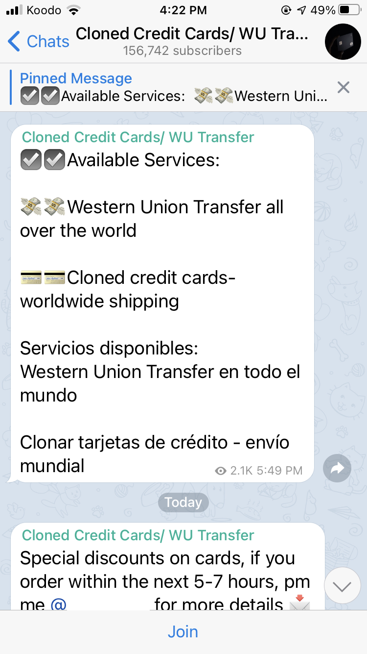 Telegram,dark web,vpnMentor,NortonLifeLock,cybercrime,data leak,data breach,DDoS,Distributed Denial of Servic, illegal activities on telegram, hackers use telegram, cybercriminals use telegram, Computer Security, computers, cyber news, cyber security news, cyber security news today, cyber security updates, cyber updates, cyberattack, cyberattacks, cybersafe news, cybersecurity, data breach, Data leak, data stealing malware, E-Commerce, fake malware, hacker news, hacking news, how to hack, information security, InfoSec, infosec news, linux, Mac, Malware, malware removal, network security, online security, personal data exposed, ransomware, ransomware attack, ransomware gang, ransomware group, ransomware malware, ransomware news, RCE, Remote Access Trojan, Remote Code Execution, rootkit, Security, smartphone, software vulnerability, spyware, Supply Chain, support, system update app, system update malware app, tech, tech news, tech support, tech updates, technical support, trojan, virus, virus removal, Vulnerability, what is ransomware